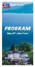 Booklet - IEEE European Test Symposium 2012 - IMAG