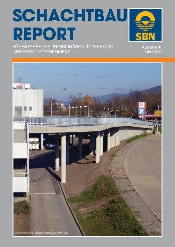 SCHACHTBAU-REPORT Nr. 48 - Ausgabe März 2013