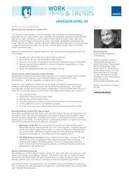 Lesen Sie weiter: Artikel zum Thema - Monika Radecki