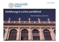 Wie funktioniert LaTeX? - Werner Robitza