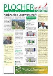 Nachhaltige Landwirtschaft - Energie & Materie