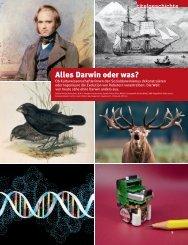 Alles Darwin oder was?