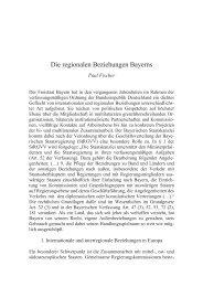 Die regionalen Beziehungen Bayerns - Eine Welt Netzwerk Bayern ...