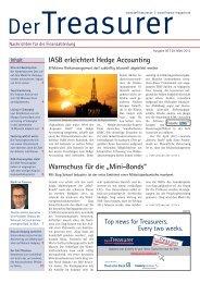 """Warnschuss für die """"Mini-Bonds"""" IASB erleichtert ... - Der Treasurer"""