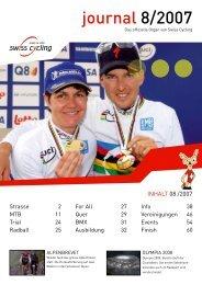 Swiss Cycling Journal 08/2007 - Velo-Moto-Club Männedorf