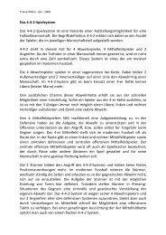 Das 4-4-2-Spielsystem Das 4-4-2-Spielsystem ist ... - Gregurani.de