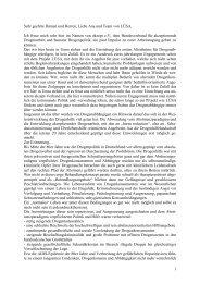 Bundesverband für akzeptierende Drogenarbeit - Projekt LÜSA