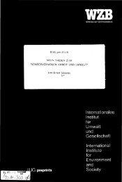 IG preprints Internationales Institut für Umwelt und Gesellschaft ...