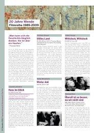 Programm SPEZIAL - 20 Jahre Wende (PDF) - Linz09