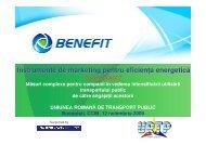 Instrumente de marketing pentru eficien a energetic ă - URTP