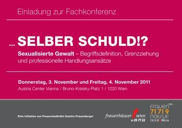 Programm - Frauengesundheit-Wien