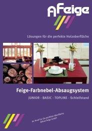 Einzelseiten Präsentation.indd - Alfred Feige GmbH