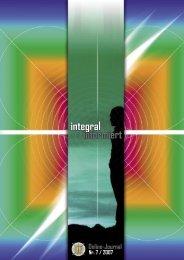 integral informiert - Nummer 7/2007 - Seite 1 - Integrales Forum