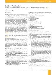Leitlinie Tauchunfall (PDF) - DGAI