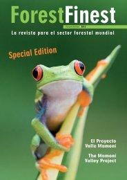 ForestFinest: Sonder-Magazin (Englisch und Spanisch)