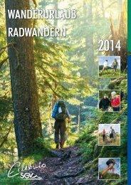 Jahresprogramm Ferienwandern 2014