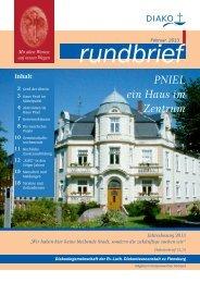 Rundbrief Nr. 5 - DIAKO Flensburg