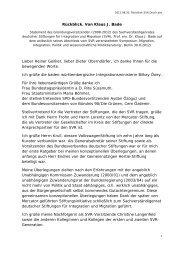 Rückblick. Von Klaus J. Bade Lieber Heiner ... - Migration-online