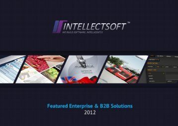 portfolio pdf, 15 mb - Intellectsoft