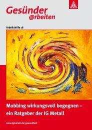 Mobbing wirkungsvoll begegnen - Bibliothek der Friedrich-Ebert ...