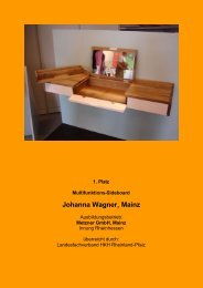 Johanna Wagner, Mainz - Die gute Form