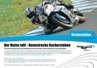 Der Osten ruft! - Rennstrecke Oschersleben - Team MotoBike