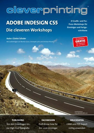 Adobe InDesign CS 5 - die cleveren Workshops