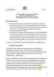 Hartz IV im Alltag – was sagen die Praktiker? - Heinrich Böll Stiftung ...