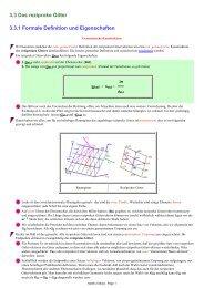 3.3 Das reziproke Gitter 3.3.1 Formale Definition und Eigenschaften