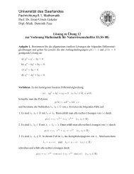 pdf - Mathematik - Universität des Saarlandes