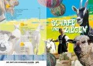 20060d Broschuere Schafe Ziegen - Landwirtschaftlicher ...
