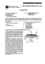 (19) (1°) DE 10 2007 029 921 B3 2008.11.20 - Questel