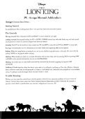 Page 1 Page 2 THE LIGN KING PC Amiga Manual Addendum PC ... - Page 3