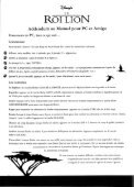 Page 1 Page 2 THE LIGN KING PC Amiga Manual Addendum PC ... - Page 4