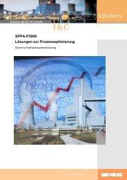 SPPA-P3000 Lösungen zur Prozessoptimierung - siemens