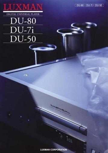 Luxman DU series