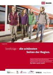 Streifzüge – die schönsten Seiten der Region. - Bahn.de