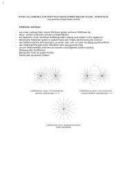 Feldlinien zeichnen - HP-BEN