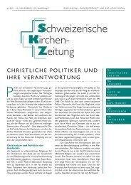 christliche politiker und ihre verantwortung - Katholische Kirche ...