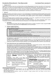 Europäisches Wirtschaftsrecht - Studentenverbindung Concordia Bern