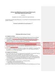 Antrag MV 2013 zur Änderung der DGSD RGO Vorstand - Deutsche ...