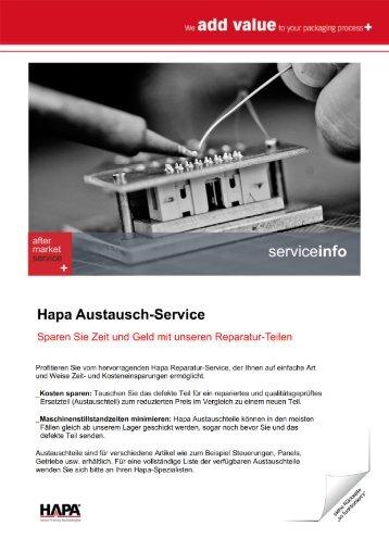 Austausch-Service - Hapa