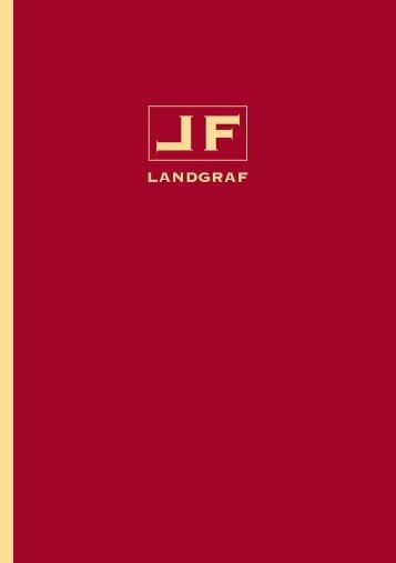 Der neue proLANDGRAF Katalog 2010 – PDF - Designer Türgriffe