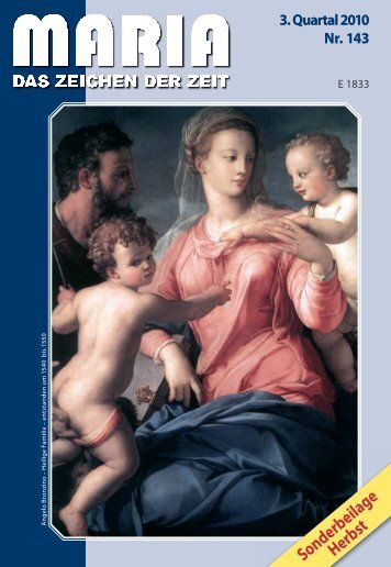 Sonderbeilage Herbst - Miriam-Verlag