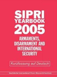 SIPRI Yearbook 2005, Kurzfassung auf Deutsch