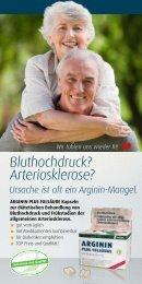 Bluthochdruck? Arteriosklerose? - Quintessenz health products GmbH