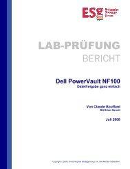 ESG Lab-Prüfung - Dell