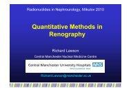 Quantitative Methods in Renography - Nucleus