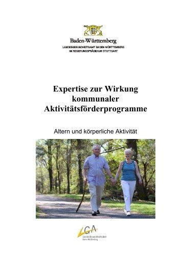 Expertise zur Wirkung kommunaler Aktivitätsförderprogramme (PDF ...