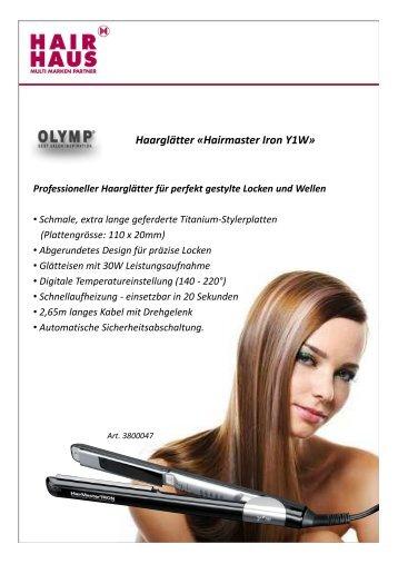 Haarglätter - Hair Haus